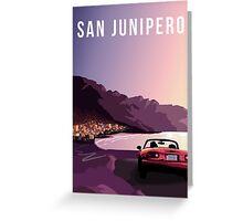 San Junipero Greeting Card