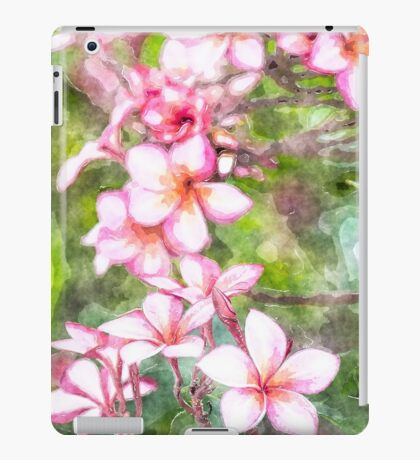 Plumeria wald iPad Case/Skin