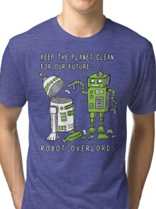 Robot Earth Tri-blend T-Shirt