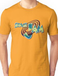 Space Jam Logo Design Unisex T-Shirt