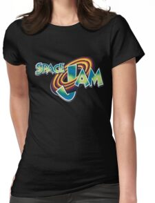 Space Jam Logo Design Womens Fitted T-Shirt