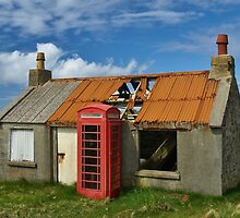 Isle of Lewis --An Old Post Office by David  Williams