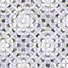 Purple Dots Pattern  by Edward Fielding