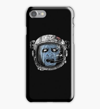Zombie with Pilot Helmet iPhone Case/Skin