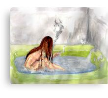 cigarette daydream Canvas Print
