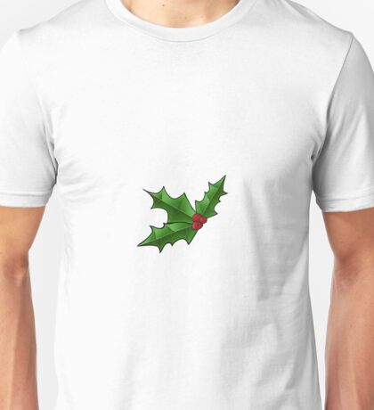Feuille de houx, Holly leaf Unisex T-Shirt