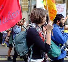 The Climate March, London 2014 by TimHatcher