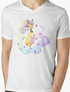 Transparent Mega Ampharos Mens V-Neck T-Shirt