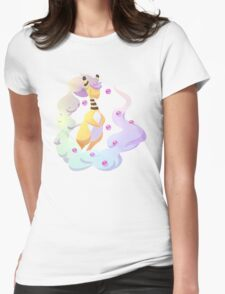 Transparent Mega Ampharos Womens Fitted T-Shirt