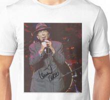 Autographed Poster of Leonard Cohen Unisex T-Shirt