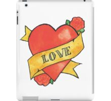 Retro 'Love' Tattoo Design iPad Case/Skin