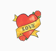 Retro 'Love' Tattoo Design Unisex T-Shirt