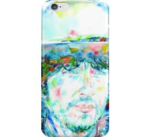 BOB DYLAN - WATERCOLOR PORTRAIT.1 iPhone Case/Skin