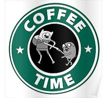 Coffee Time (Adventure Time)  Poster