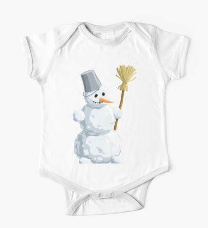 ICE MAN READY FOR CHRISTMAS SNOW  One Piece - Short Sleeve