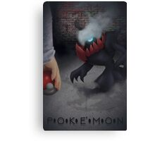 Pokemon Darkrai  Canvas Print