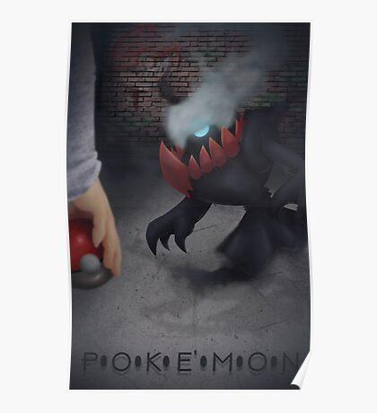 Pokemon Darkrai  Poster