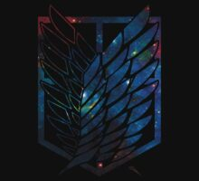 Wings Of Justice: Galaxy T-Shirt