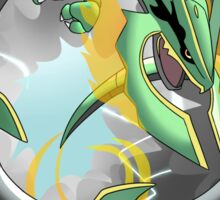 Mega Rayquaza - Stormy BG Sticker