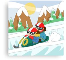 Winter Sports: Bobsleigh Canvas Print