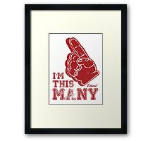 This Many One by lilterra.com Framed Print