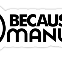BECAUSE MANUAL (3) Sticker
