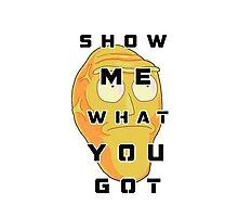 Show Me! Photographic Print