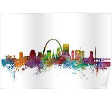 St Louis Missouri Skyline Poster