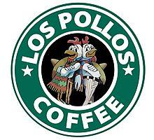 Los Pollos Coffee (Breaking Bad) Photographic Print