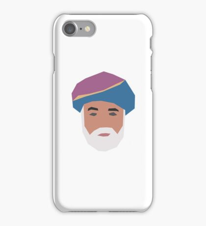 Sultan Qaboos  iPhone Case/Skin