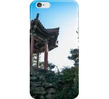 a small temple down town liverpool iPhone Case/Skin