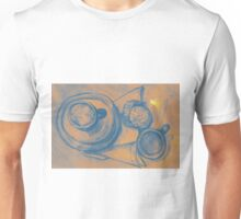 Tea time watercolor painting of tea cups and biscuits on the table. Unisex T-Shirt