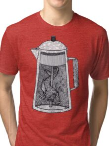 There was a fish in the percolator Tri-blend T-Shirt