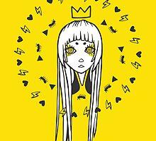 All Seeing Princess by choizilla