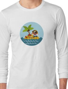 Happy Pirate Long Sleeve T-Shirt