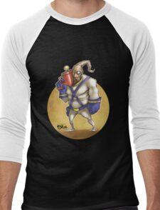 Earth Worm Jim Men's Baseball ¾ T-Shirt
