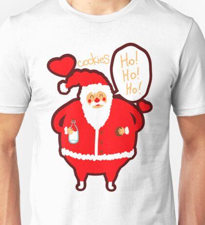 Santa Loves Cookies - Ho Ho Ho! Unisex T-Shirt