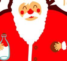 Santa Loves Cookies - Ho Ho Ho! Sticker