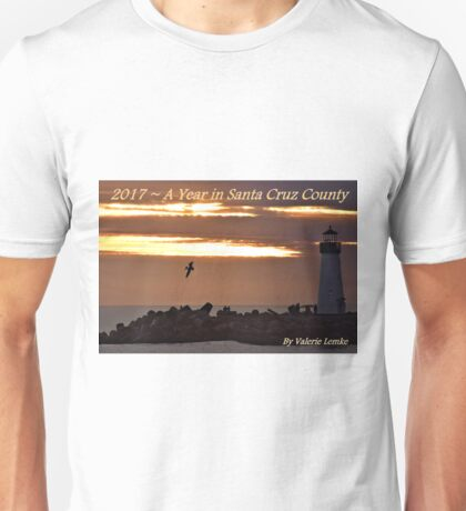 Pelican Silhoutte at the Walton Lighthouse - Cover Unisex T-Shirt