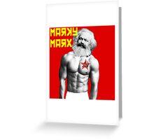 Marky Marx Greeting Card