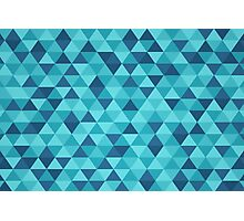 An ocean of triangles Photographic Print