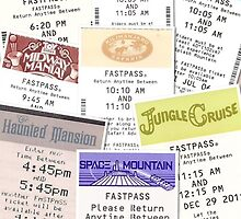 Disney Fastpass iphone case by Emily2015