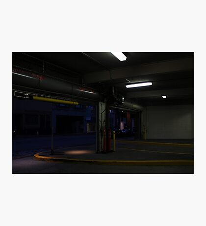 Parking garage Photographic Print