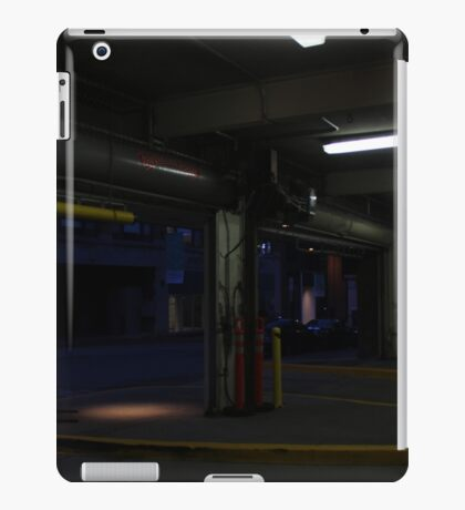Parking garage iPad Case/Skin