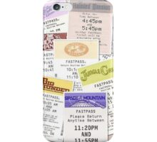 Disney Fastpass iphone case iPhone Case/Skin