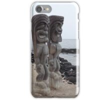 Place of Refuge Tikis iPhone Case/Skin
