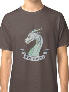 FEMINIST - Light Dragon Classic T-Shirt