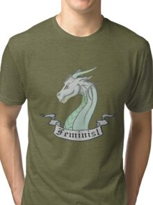 FEMINIST - Light Dragon Tri-blend T-Shirt