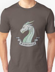 FEMINIST - Light Dragon Unisex T-Shirt