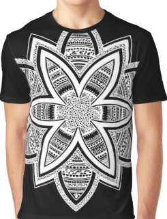 Wholness black and white mandala Graphic T-Shirt